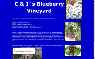 C & J's Blueberry Vineyard