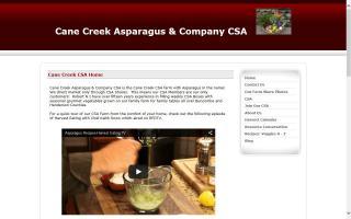 Cane Creek Asparagus & Company CSA
