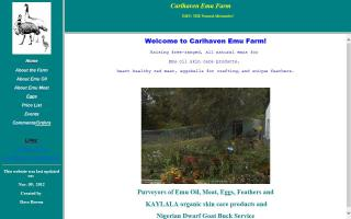 Carlhaven Emu Farm