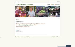 Kline Organic Produce