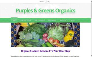 Purples & Greens Organics