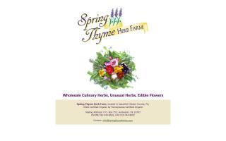 Spring Thyme Herb Farm