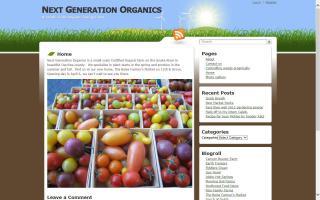 Next Generation Organics