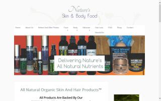 Nature's Skin and Body Food