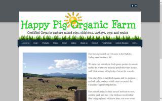 Happy Pig Organic Farm