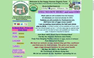 Happy Hooves Organic Farm