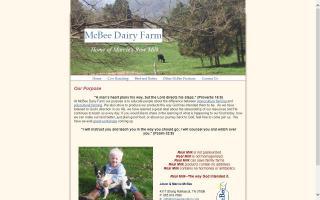 McBee Dairy Farm
