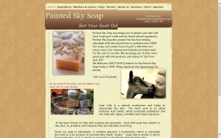 Painted Sky Soap