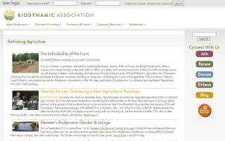 Biodynamic Farming and Gardening Association