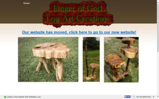 Finger of God Log Art Creations
