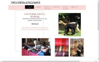 Finca Serena Alpaca Ranch