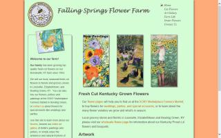 Falling Springs Flower Farm