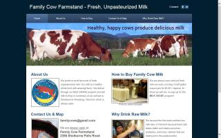 Family Cow Farmstand
