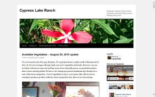Cypress Lake Ranch