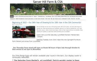 Sarver Hill Farm & CSA