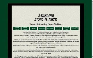 Standing Stone Nubians