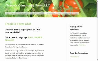 Tracie's Community Farm, LLC.