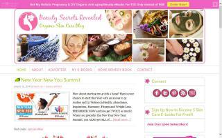 Beauty Secrets Revealed - Organic Skin Care Blog