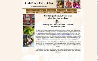 Goldfinch Farm CSA