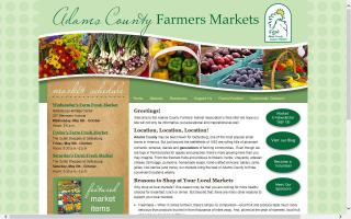 Adams County Farmers Markets