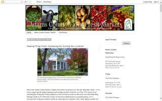Adams County Farm Fresh Markets - Blog