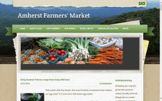 Amherst Farmers' Market - Blog