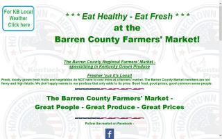 Barren County Regional Farmers' Market