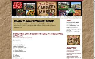 High Desert Farmers Market
