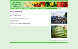 Boone Farmers Market