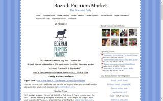 Bozrah Farmers Market