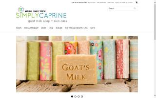 SimplyCaprine Goat's Milk Skin Care