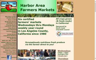 Harbor Area Farmers Markets