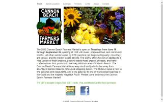 Cannon Beach Farmers Market
