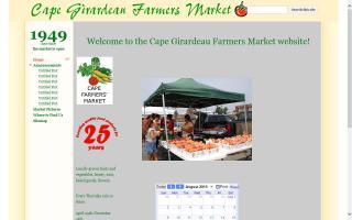 Cape Girardeau Farmers Market
