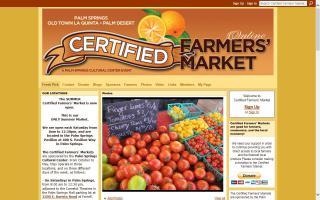 Certified Farmers Market Old Town La Quinta