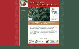 Black Road Christmas Tree Farms