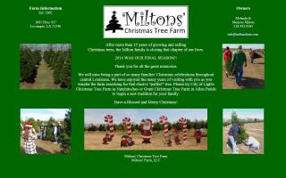 Miltons' Christmas Tree Farm
