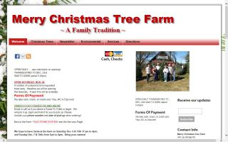 The Merry Christmas Tree Farm