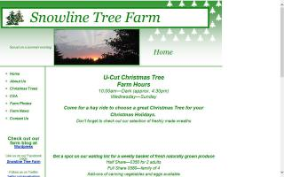 Snowline Tree Farm, LLC.