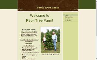 Paoli Tree Farm