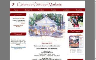 Colorado Outdoor Markets