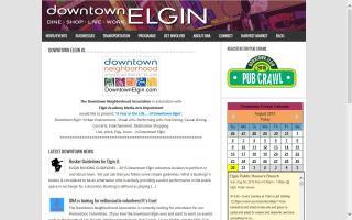 Downtown Elgin Harvest Market