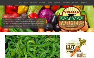 Visalia Farmer's Market