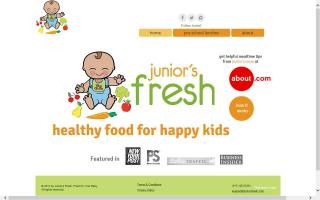 Junior's Fresh Food for Your Baby