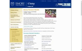 Emory Farmers Market