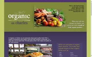 Organic on Charles
