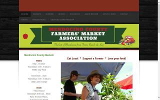 Mendocino County Farmer's Market