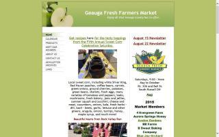 Geauga Fresh Farmers' Market