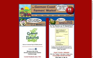 German Coast Farmer's Market