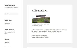 Hills Horizon
